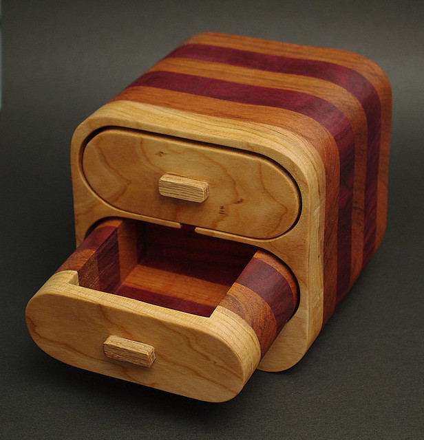 Bandsaw Jewelry Box I Made Two Of These Bandsaw Boxes