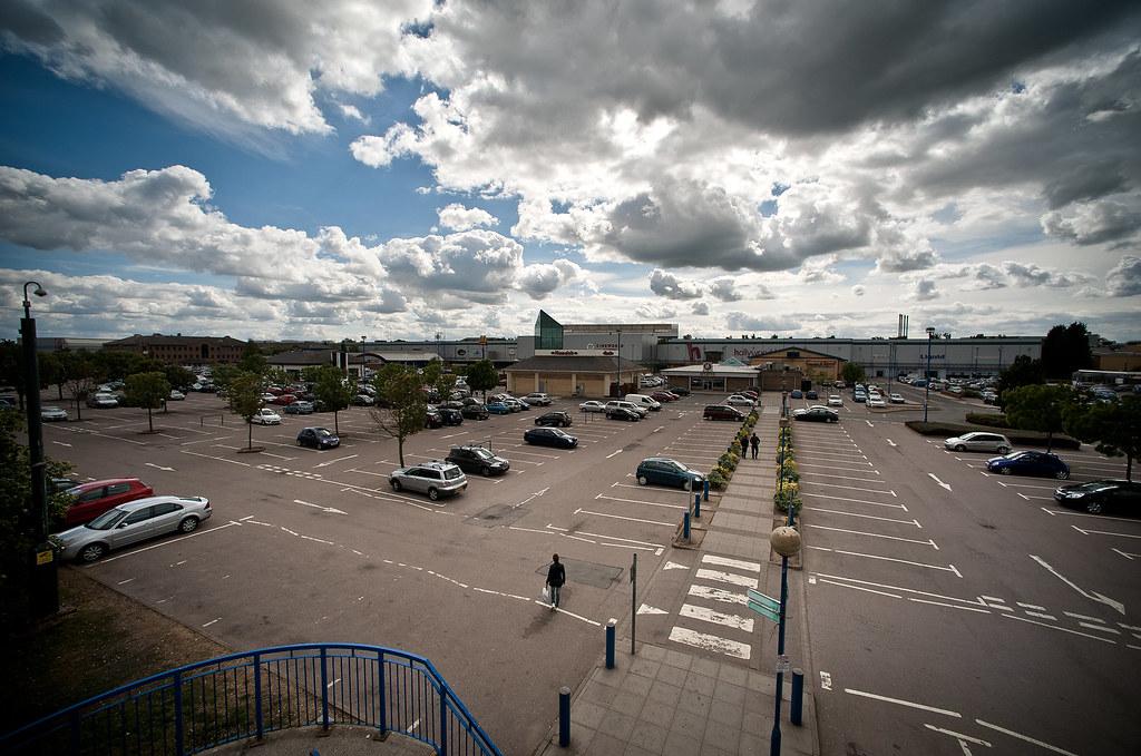 Stevenage Leisure Park To Me It Looks Like A Giant Car