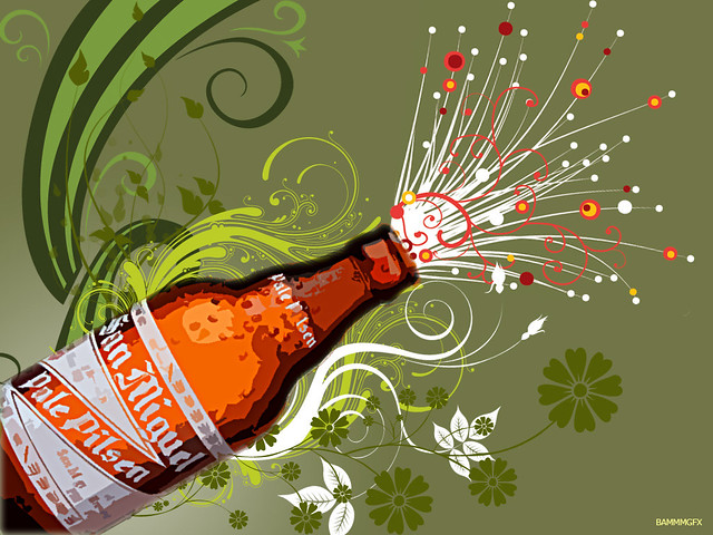 3d Wallpaper Images San Miguel Beer Summer Burst Bammm2008 Flickr