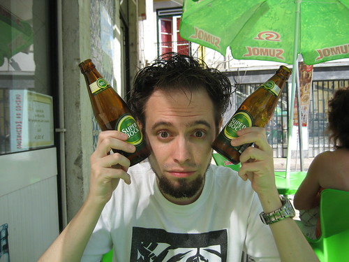 Cerveza Super Bock portuguesa. ViajerosAlBlog.com.