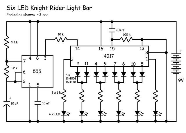 knight rider-schematic