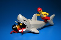 shark attack | Did you know you can fit a whole minifig ...