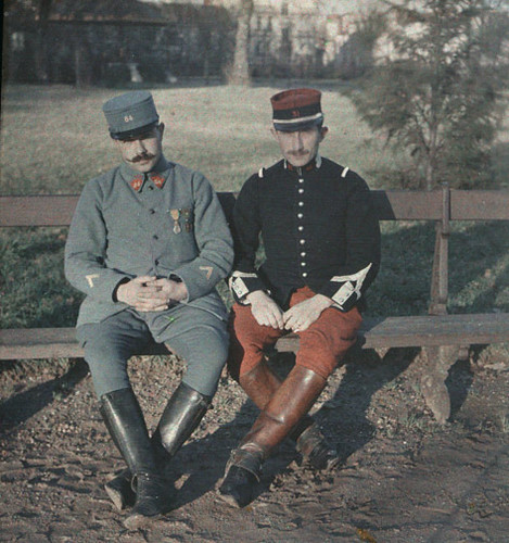 How Was World War 1 Color Back Then