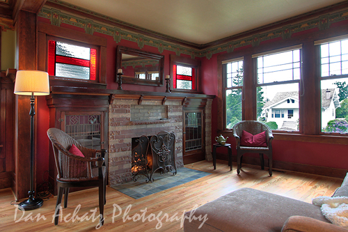 Arts and Crafts Living room  A fore runner of the