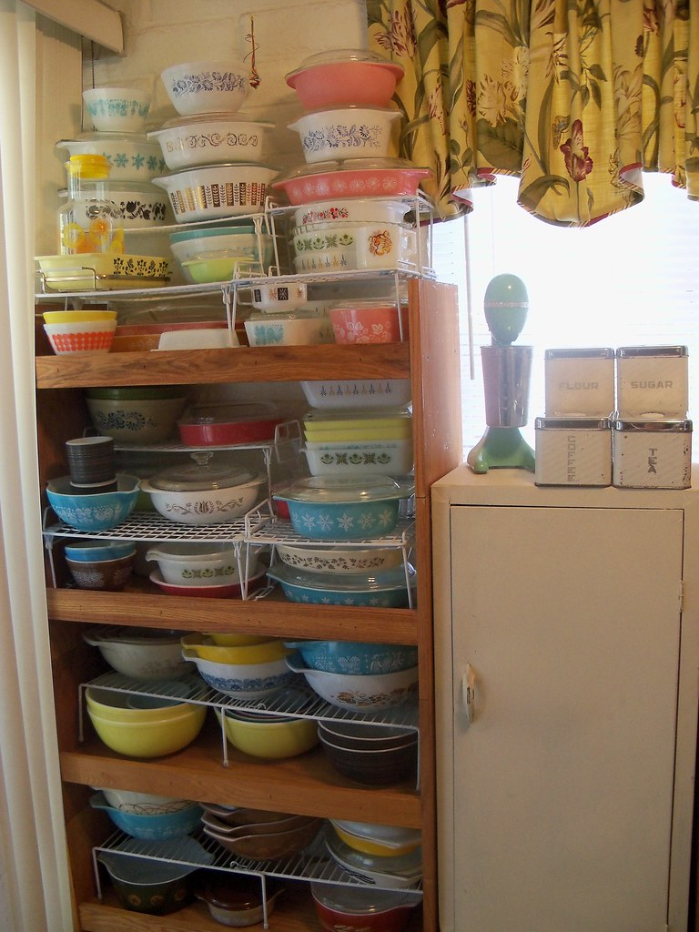 My Vintage Pyrex  Fire King Collection  This ones in