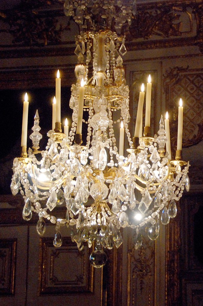 Versailles  Chandelier  Another chandelier in the Kings