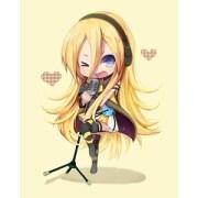 cute chibi blonde hehehe