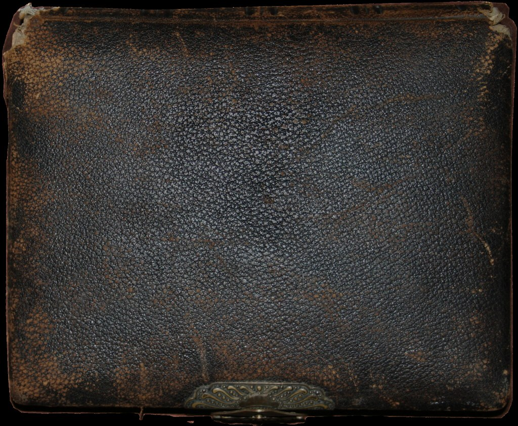 Old Leather Photo Album  Playingwithbrushes  Flickr