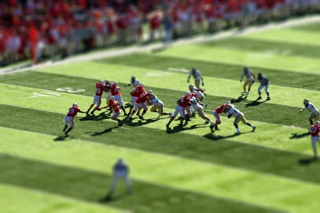 Lets Go Huskers Tilt Shift  I used this tool