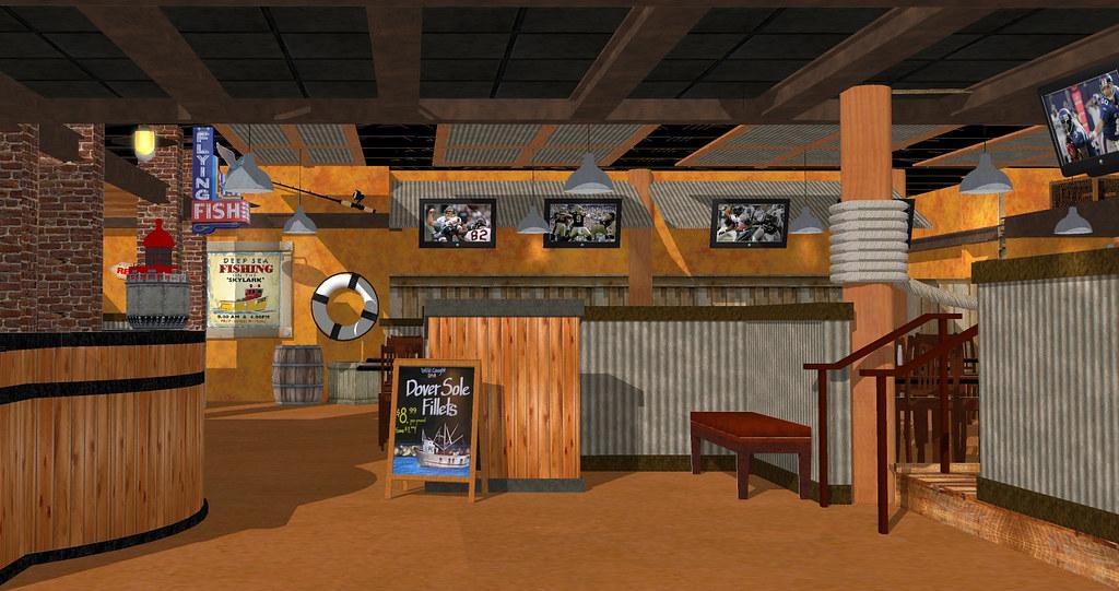 3D Restaurant Design  Restaurant Interior Rendering  Int