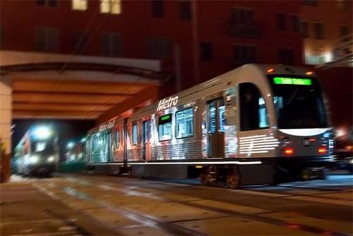 Light Rail Metro Gold Line  AnsaldoBreda light rail car