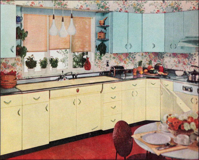 1956 Youngstown Metal Cabinets  This ad appeared in