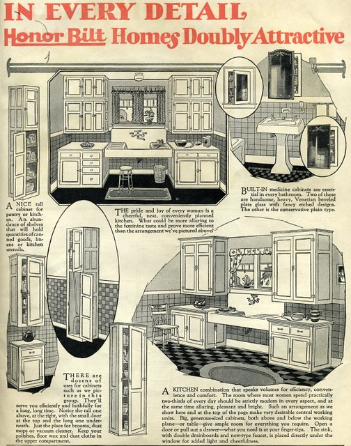 sears kitchen stone kit house honor bilt 1920 modern hom flickr by daily bungalow