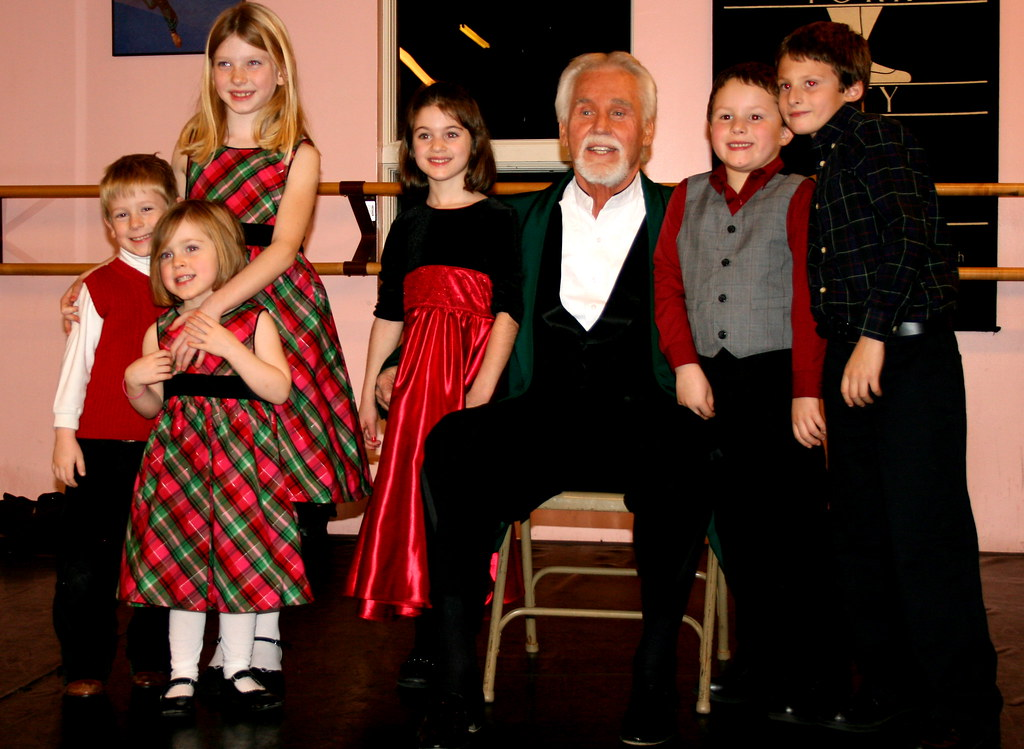 Kids With Kenny Rogers Alex Ragone Flickr