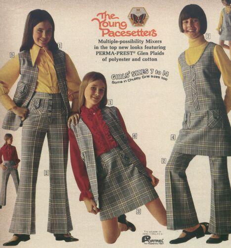Junior Girls Underwear Catalog 1971
