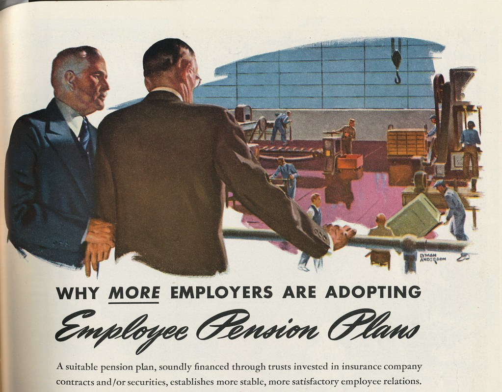 Employee Pension Plans  Advertisement of Chase National Ban  Flickr