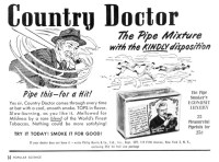 Country Doctor Pipe Tobacco | Page 14, August 1949 Popular ...
