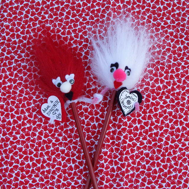 Frustration Pencil Valentine Craft Kit A Retro Craft Kit
