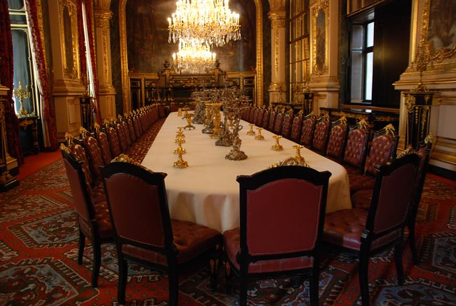 Large Dining Room Napoleon III Apartments Paris France