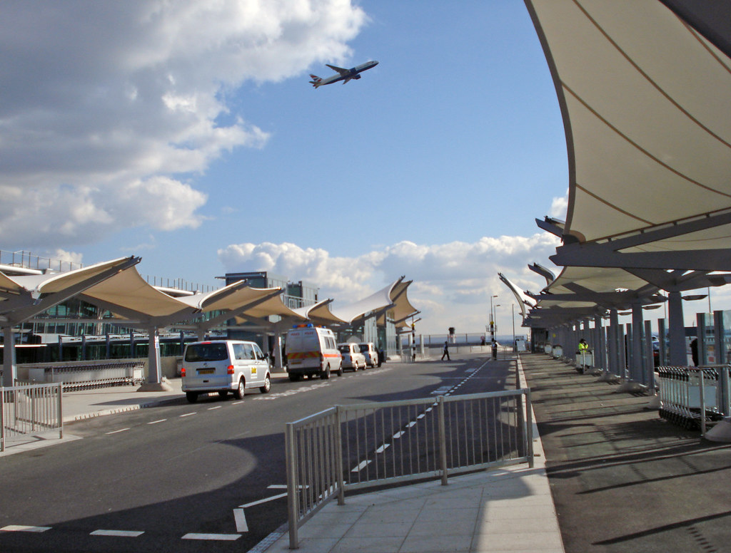 Heathrow T5  coach drop off  A great new location for up