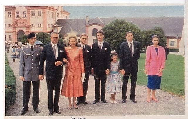 Knigliche Familie Wrttemberg 1985  Die wrttembergische