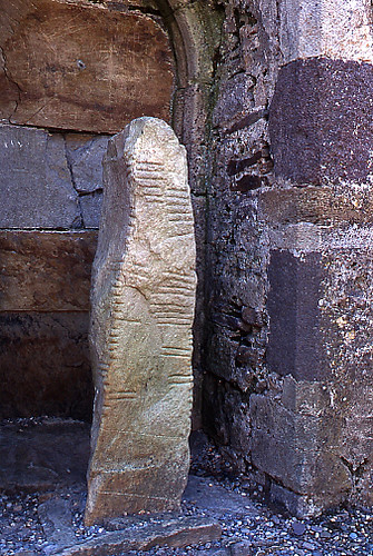 Ogham Stone Ogham Stones Were Used To Carry The Earliest