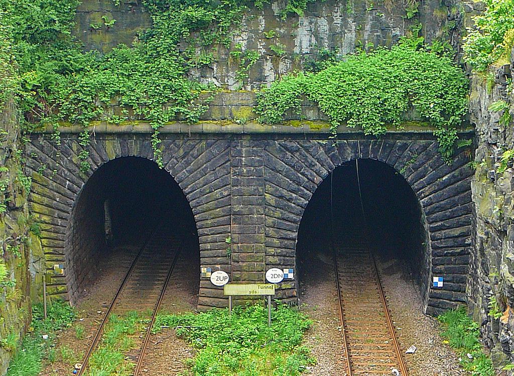 Salterhebble Tunnel Halifax View From Crossley Hill