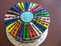 Wheel of Fortune Cake | custom cake | Linda's Kitchen | Flickr