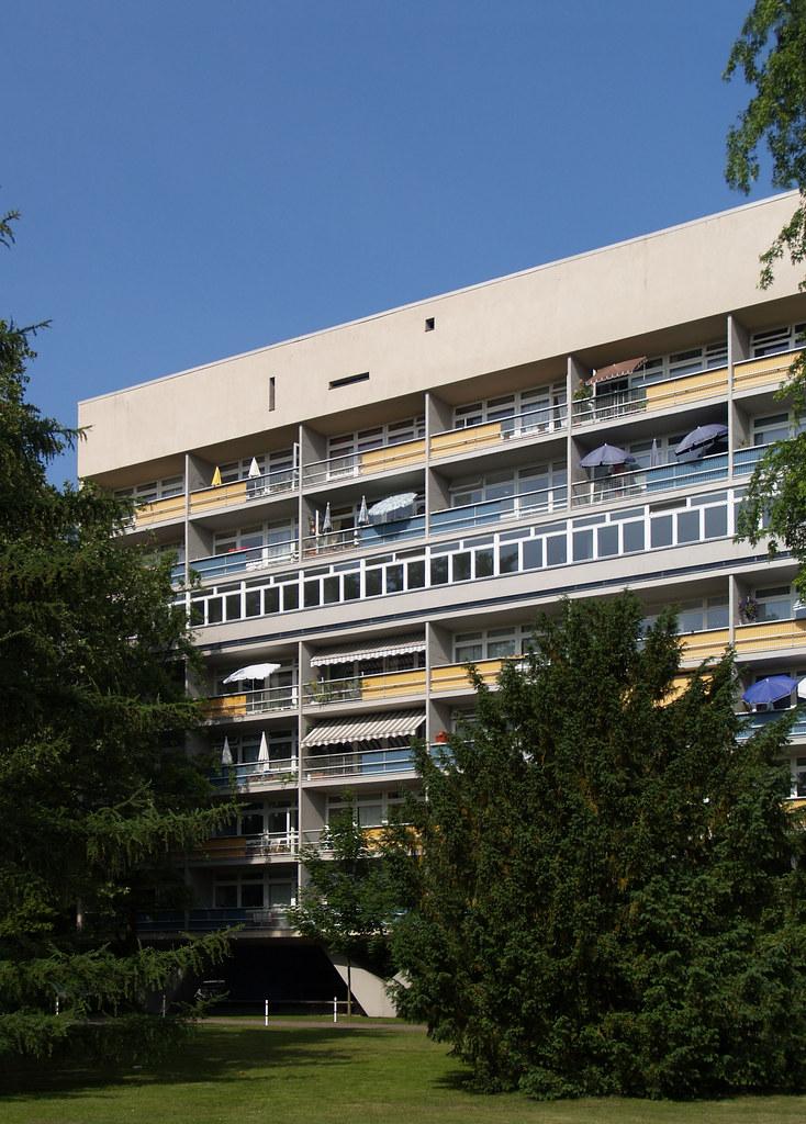 oscar niemeyer hansaviertel housing berlin 19561957