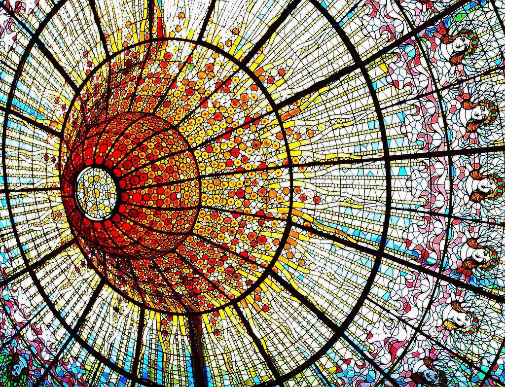 Sol y Cielo  The Palau de la Msica Catalana is a