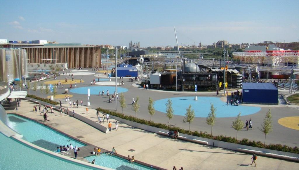 Zaragoza Expo 2008 Plazas Temáticas 055