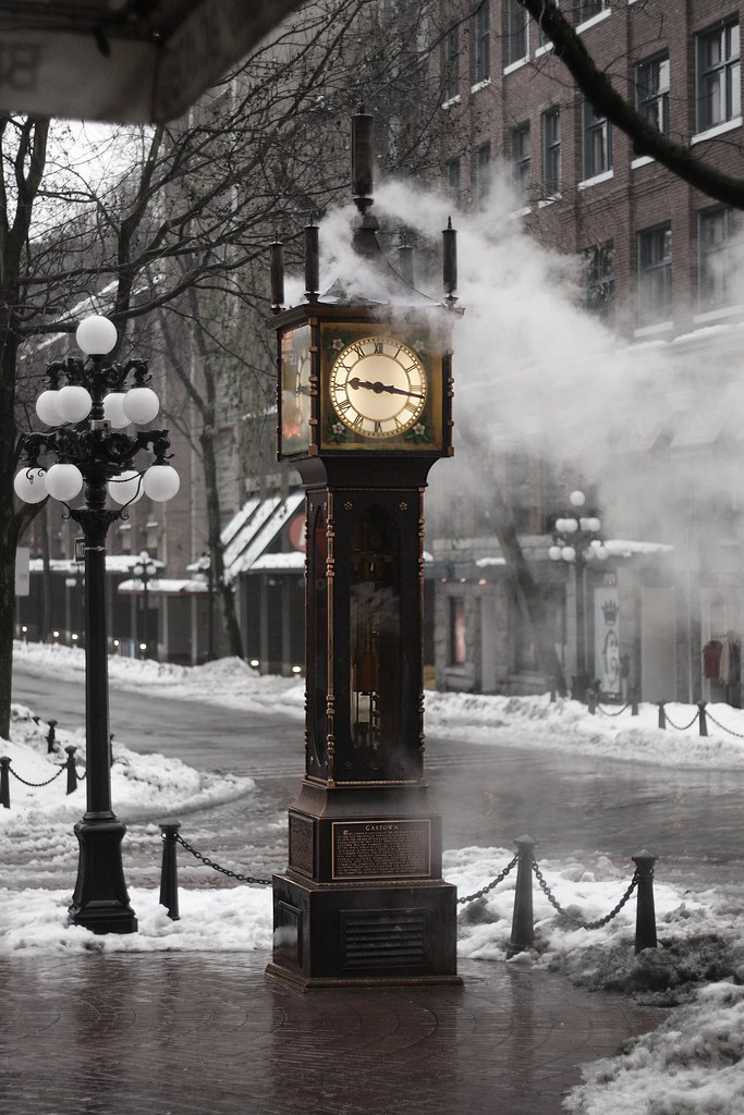 The Gastown Steam Clock Vancouver  This is really cool