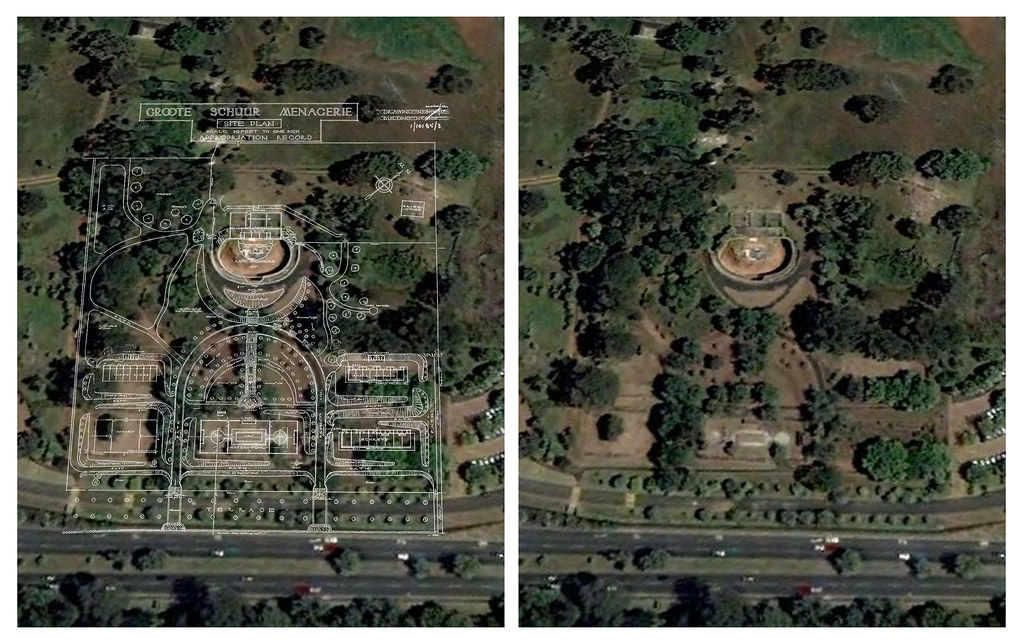 Abandoned Rhodes Zoo  Google Earth ground plan overlay  Flickr