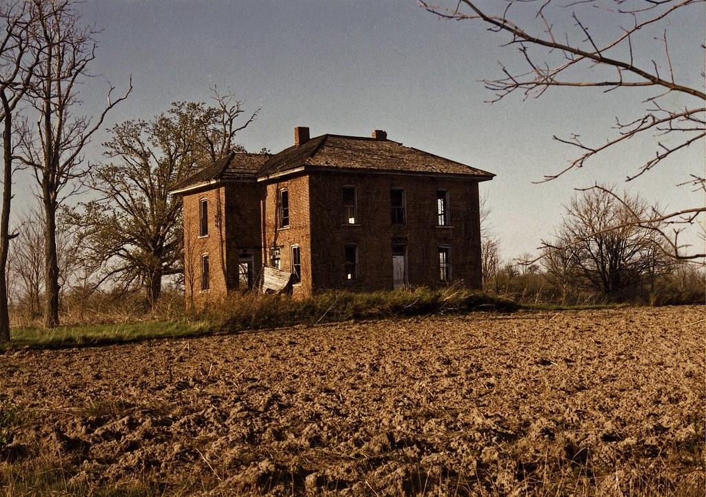 Ohio Brick Farmhouse Twenty Years Ago I Found This