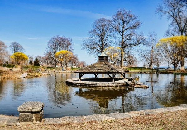 oakland beach pond landscape