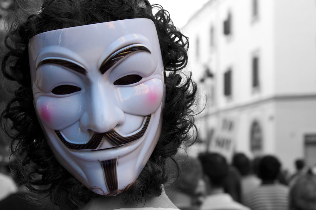 Anonymous Guy Fawkes Mask Anroir Flickr