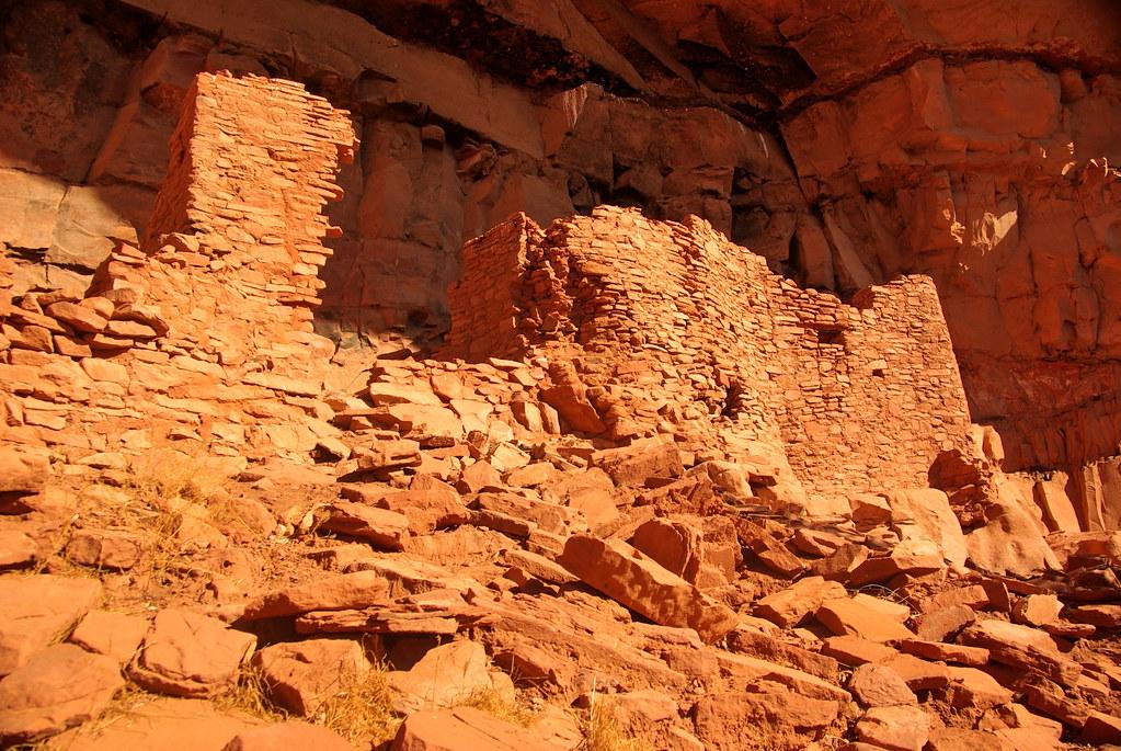 Honanki Cave Structures  Sedona Arizona  Sinagua Ruins  Flickr