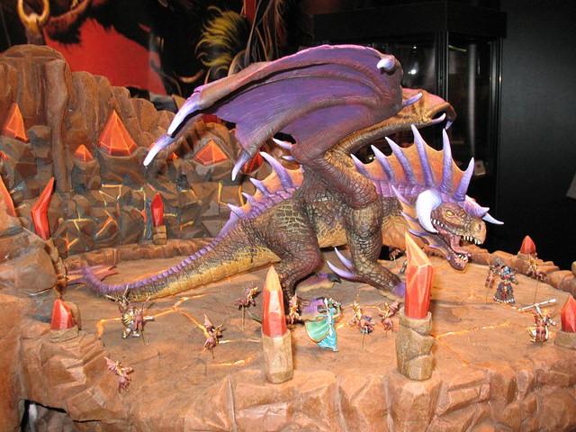 World Of Warcraft Miniatures Onyxia Raid Diorama Upper D