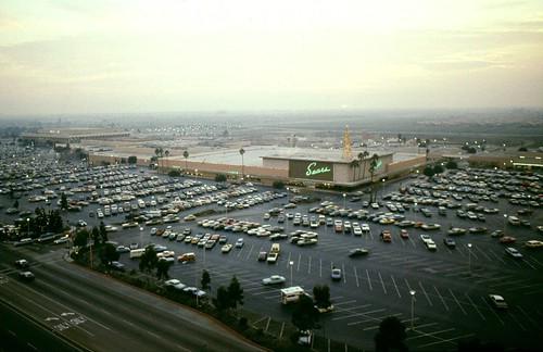 South Coast Plaza Costa Mesa 1980s  by Orange County