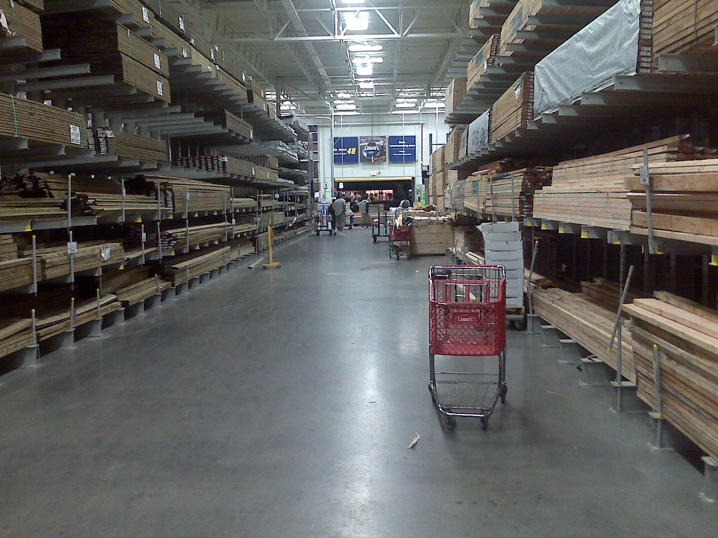 October 14  Lowes Lumber Isle  More work on the kitchen