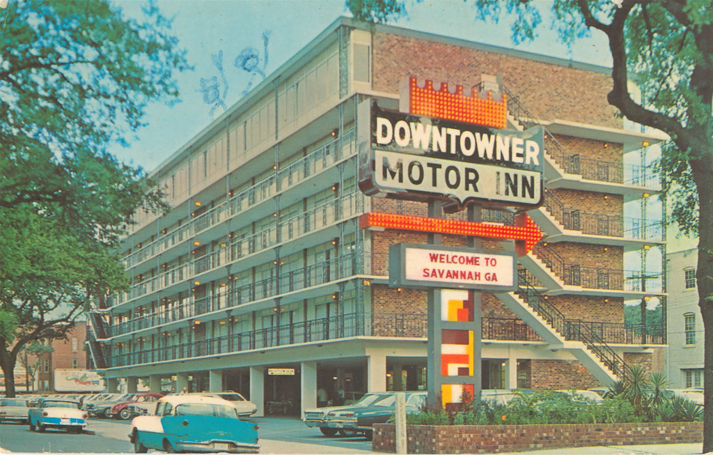 Downtowner Motor Inn Welcome to Savannah Ga  From the
