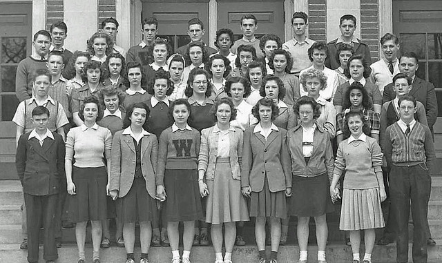 Worthington High School 1942  A photo that I took for
