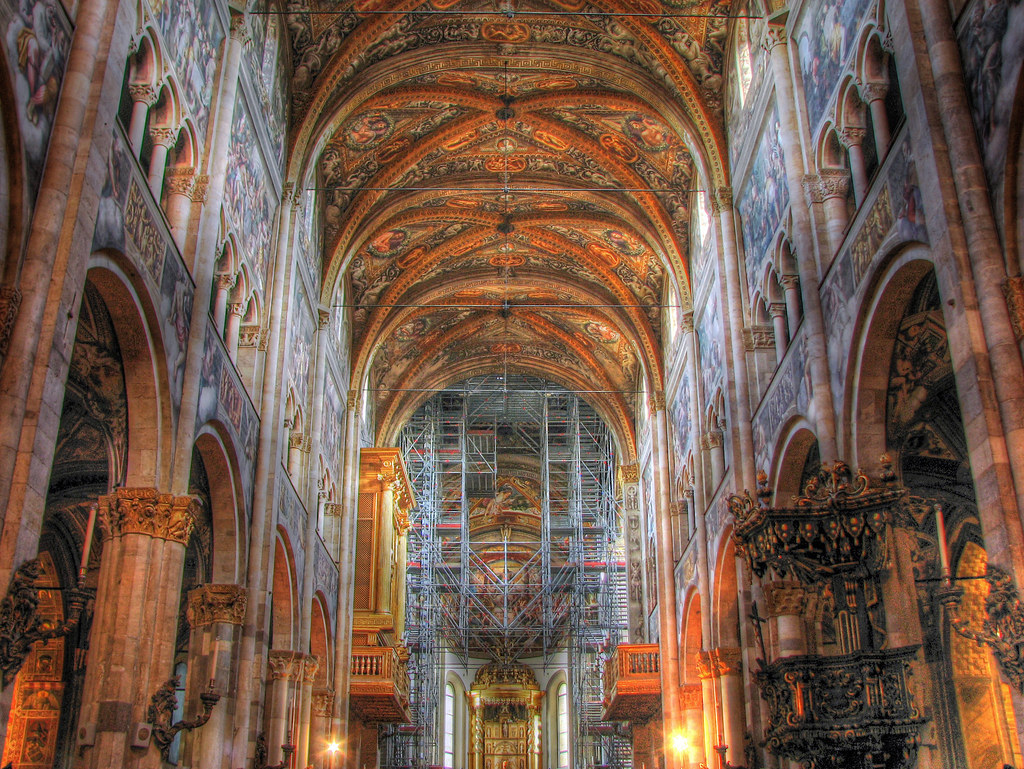 Parma  Cathedral Interior  Parma Cathedral Duomo is a ca  Flickr