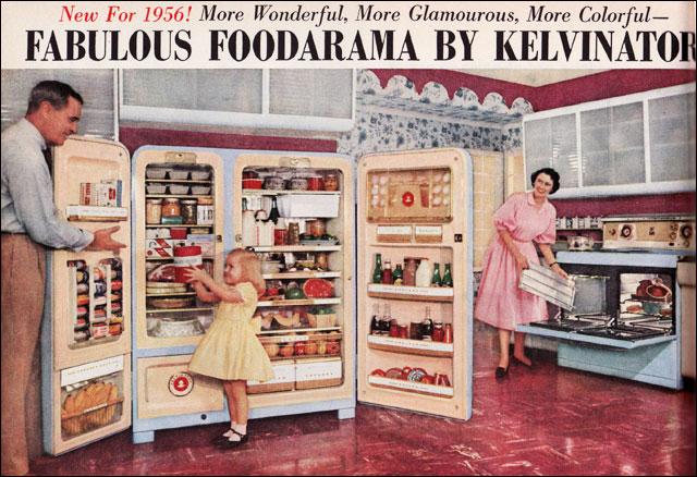 1956 Foodarama by Kelvinator  Oh me oh my The Foodarama