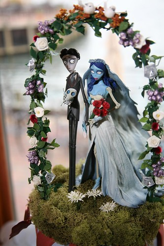 corpse bride wedding cake topper  Flickr  Photo Sharing