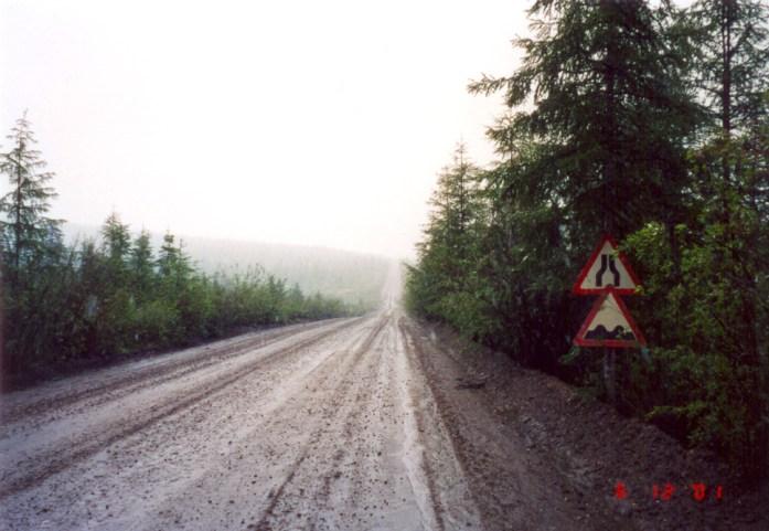 M56 Autopista de Kolyma, también conocida como Carretera de los Huesos