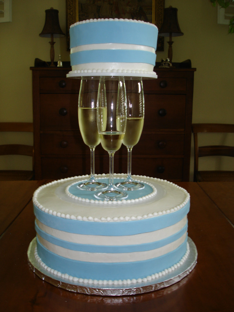Champagne Glass Cake Haines Barksdale Flickr