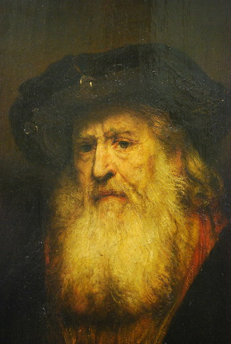 Dresden  Zwinger  Gallery of Old Masters  Rembrandt  Portrait of a Bearded Man in Black