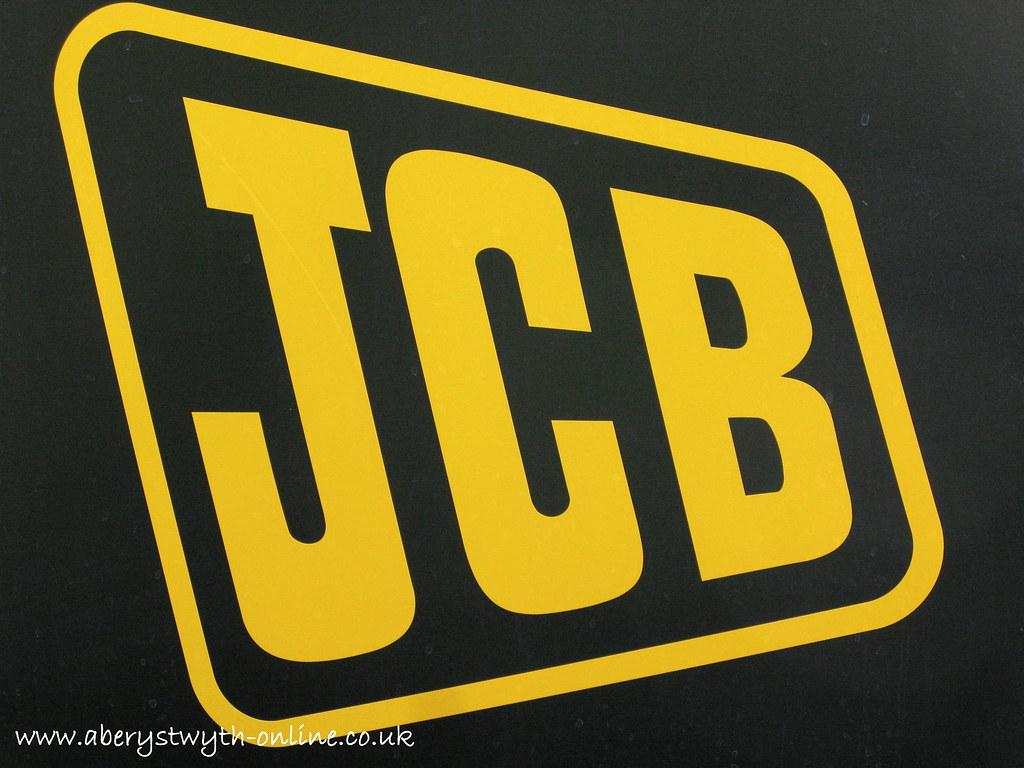 JCB Logo  Produced by Aberystwyth Online Town Guide JCB