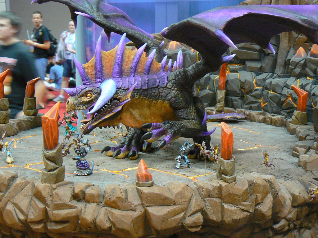 Versus Onyxia  The World of Warcraft miniatures game
